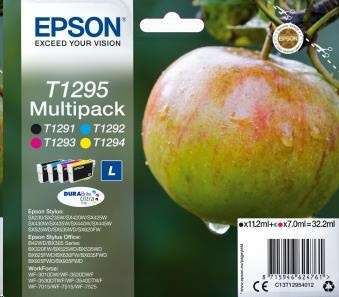 EPSON ink Multipack 4-colours T1295 DURABrite Ultra Ink