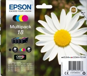 EPSON ink Multipack 4-colours 18 Claria Home Ink