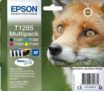 EPSON ink Multipack 4-colours T1285 DURABrite Ultra Ink