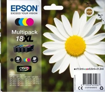 EPSON ink Multipack 4-colours 18XL Claria Home Ink