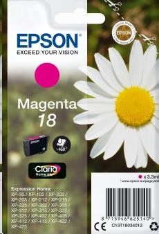 EPSON ink bar Singlepack Magenta 18 Claria Home Ink