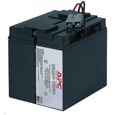 APC Replacement Battery Cartridge #7, SU700/1000XL,SUA750/1000XLI,SU1400I,SU1400INET,BP1400I, SUA1500I, SMT1500I