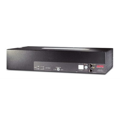 APC Rack ATS, 230V, 32A, IEC309 in, (16)C13 (2)C19 out, 2U, IEC 309 32A 2P+E 2,66m