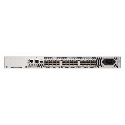 HPE 8/24 Base (16) Full Fabric Ports Enabled SAN Switch