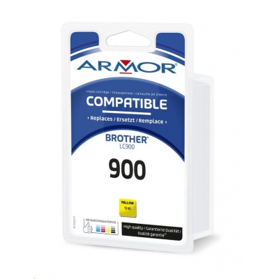 ARMOR cartridge pro BROTHER DCP-110/115 Yellow (LC900Y)